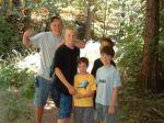 Sean, Chris, Nathan, Adam and Nicholas on the trail.