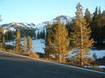 Snow on Sonora Pass.