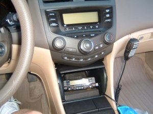 Radio from Driver's Seat