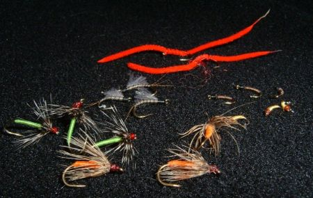 A few flies from the auction.