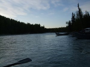 Daybreak on the Kasilof River