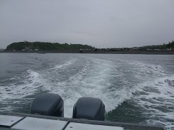 Headed out on Cooks Inlet.