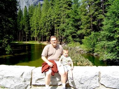 Me and Alex on Stoneman Bridge.