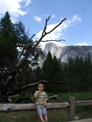 Alex and Half Dome...