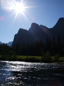 Afternoon on the Merced River.