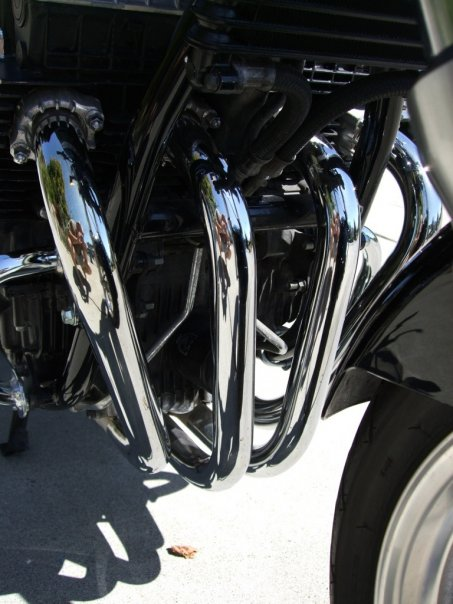 CB750 Exhaust