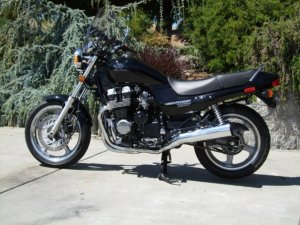 CB750 Left Side