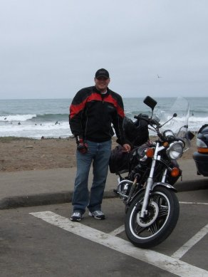 Sean and his Honda CB650SC