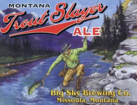 Trout Slayer Beer Label
