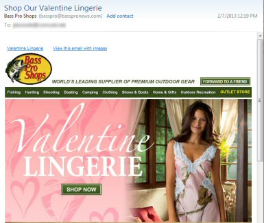 Bass Pro Lingerie Email
