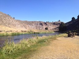 Solitude on Hot Creek.