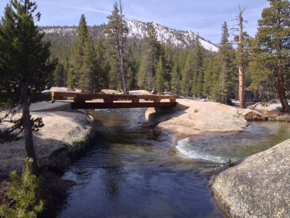 Lyell Fork bridges.