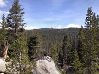 The view, looking roughly northwest, from the mouth of the canyon, where I turned around.