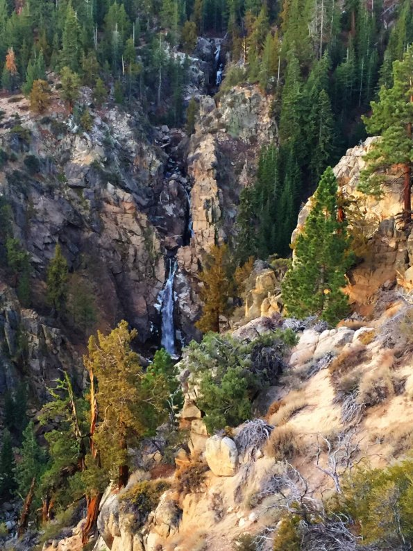 Leavitt Falls, late in the fall.