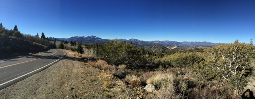 Looking west from near Monitor Pass.