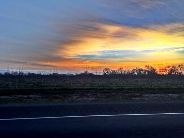 Hwy 5 Sunrise