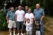 Me, Sean, Mark, Mom, Kaden, Dad and Levi