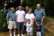 Me, Sean, Mark, Mom, Kaden, Dad and Levi