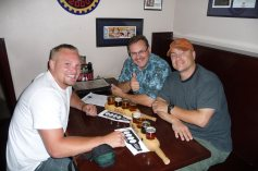 Sean, me and Mark at the Issaquah Brew House.