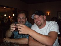 Me and Sean at Raven Brew Co.