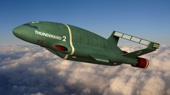 The real Thunderbird 2.