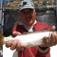 2017.08.26 Crowley Lake 05.Gerry Crooked Cutthroat
